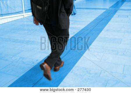 Wandern auf der Linie