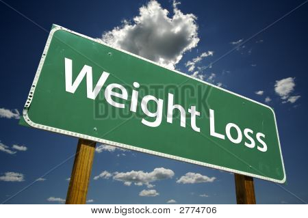 Weight Loss - Road Sign