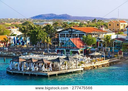 Bonaire Bayside Restaurant Near The Cruise Ship Ports And Shopping District