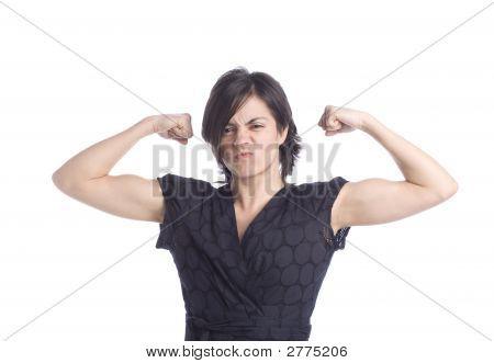 Strong Hispanic Woman