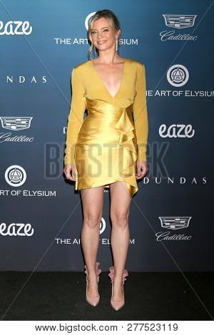 LOS ANGELES - JAN 5:  Amy Smart at the Art of Elysium 12th Annual HEAVEN Celebration at a Private Location on January 5, 2019 in Los Angeles, CA