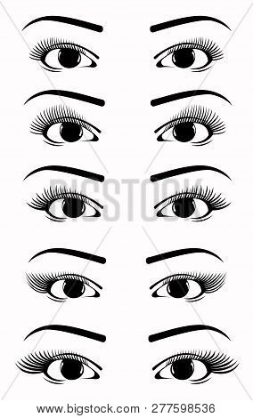 Eyelash Extension Shape, Eyelash Extension Set, Eyelash Collection