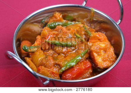 Индийские курица карри