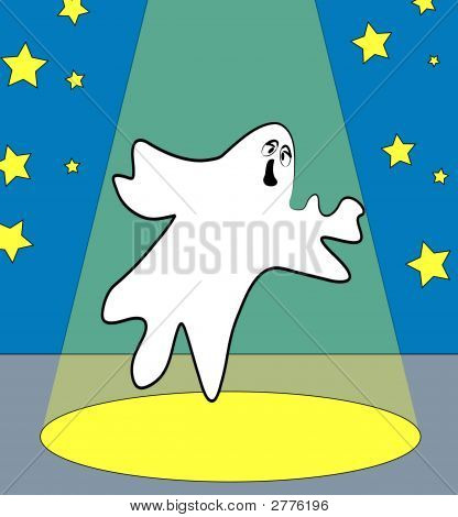 Ghost Under The Spotlight