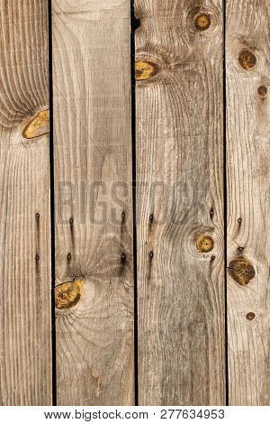Barn Wooden Wall Planking Texture. Reclaimed Old Wood Slats Rustic Background. Home Interior Design