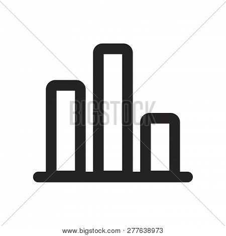 Chart Vector Icon On White Background. Chart Icon In Modern Design Style. Chart Vector Icon Popular