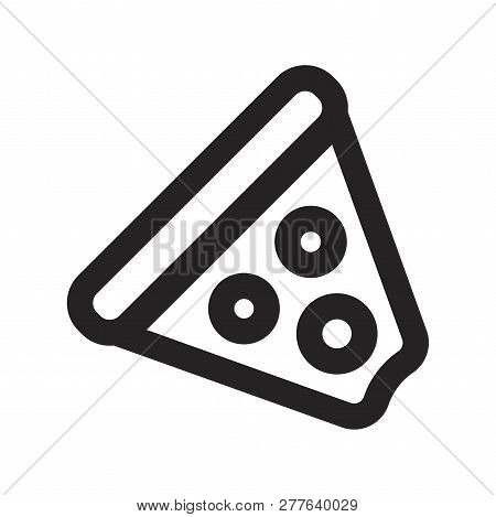 Pizza Vector Icon On White Background. Pizza Icon In Modern Design Style. Pizza Vector Icon Popular