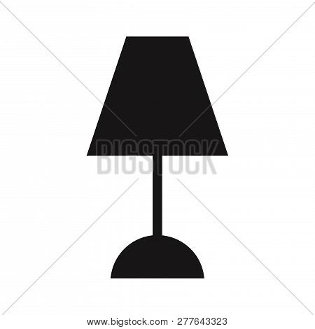 Lamp Icon Isolated On White Background. Lamp Icon In Trendy Design Style. Lamp Vector Icon Modern An