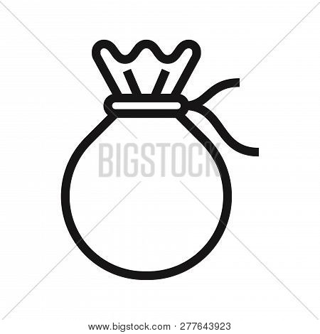 Sack Icon Isolated On White Background. Sack Icon In Trendy Design Style. Sack Vector Icon Modern An