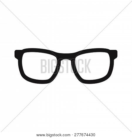 Glasses Icon Isolated On White Background. Glasses Icon In Trendy Design Style. Glasses Vector Icon