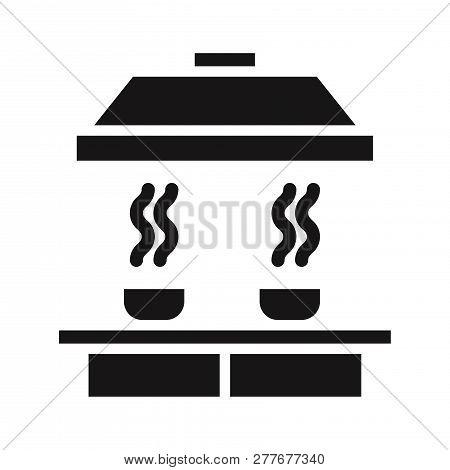 Smoke Detector Icon Isolated On White Background. Smoke Detector Icon In Trendy Design Style. Smoke