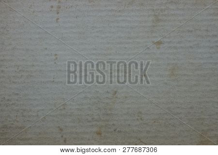 Gray Paper Background From Old Dirty Cardboard Cover