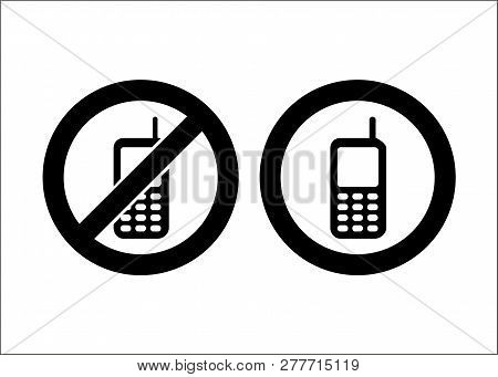 Cellular Phone Icon Isolated On White Background. Cellular Phone Icon Simple Sign. Cellular Phone Ic