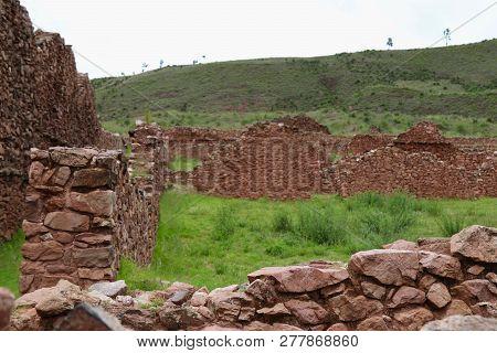 Kañaracay - One Of The Many Archeological Sites In Cuzco Region Of Peru