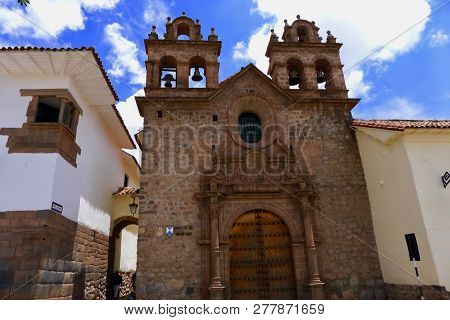 Historical And Archeological Building Around Cusco Of Peru