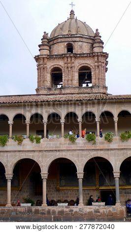 Church Of Santo Domingo And Coricancha In Cuzco, Peru
