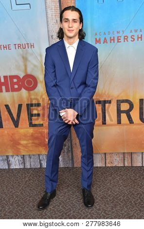 LOS ANGELES - JAN 10:  Richard Meehan arrives to HBO's 'True Detective' Season 3 Premiere  on January 10, 2019 in Hollywood, CA