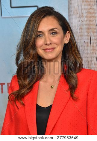 LOS ANGELES - JAN 10:  Mozhan Marno arrives to HBO's 'True Detective' Season 3 Premiere  on January 10, 2019 in Hollywood, CA