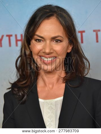 LOS ANGELES - JAN 10:  Susanna Hoffs arrives to HBO's 'True Detective' Season 3 Premiere  on January 10, 2019 in Hollywood, CA