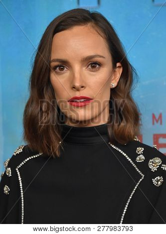 LOS ANGELES - JAN 10:  Jodi Balfour arrives to HBO's 'True Detective' Season 3 Premiere  on January 10, 2019 in Hollywood, CA