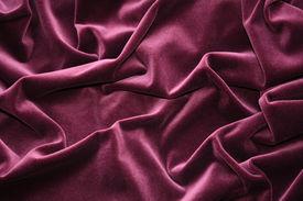 Pleated Velvet
