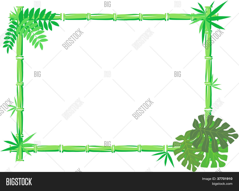 Bamboo Frame Safari Vector & Photo (Free Trial) | Bigstock