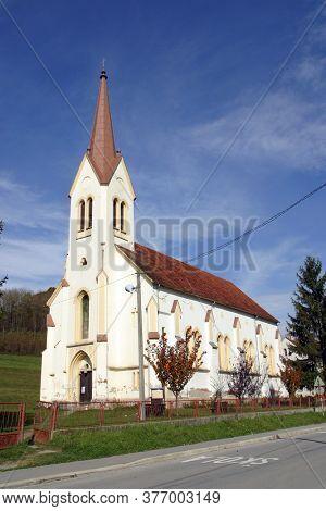 Saint Roch's Church in Luka, Croatia