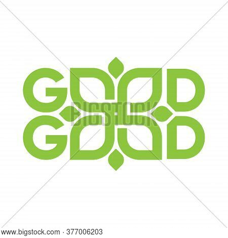 Good Good Design Vector Art, Nature Application Logo