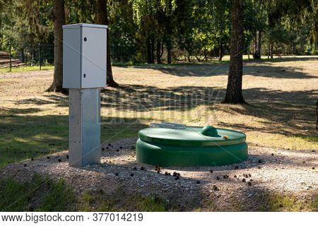 Septic Tank For Wastewater. Septic System. Septic Tank.