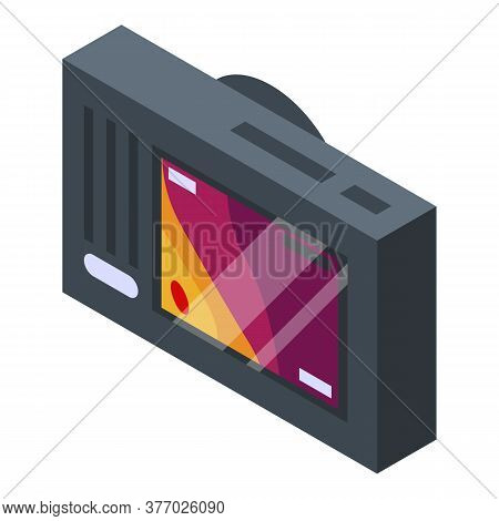 Camera Thermal Imager Icon. Isometric Of Camera Thermal Imager Vector Icon For Web Design Isolated O
