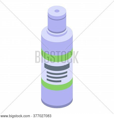 Portable Antiseptic Icon. Isometric Of Portable Antiseptic Vector Icon For Web Design Isolated On Wh