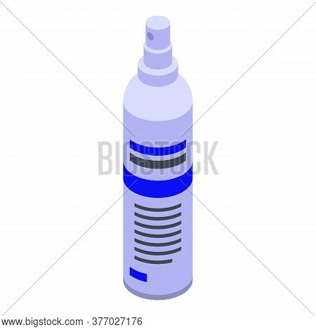 Clean Spray Antiseptic Icon. Isometric Of Clean Spray Antiseptic Vector Icon For Web Design Isolated