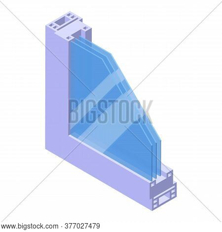 Soundproofing Section Icon. Isometric Of Soundproofing Section Vector Icon For Web Design Isolated O