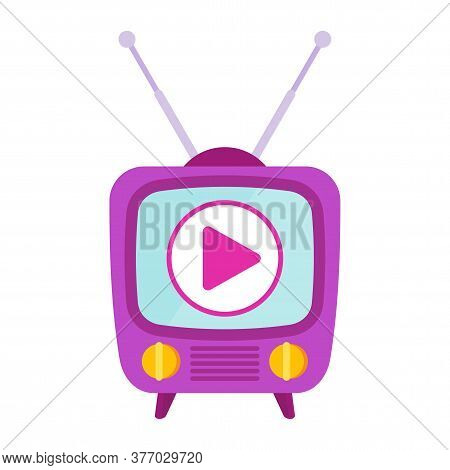 Retro Tv And Ragio. Advertising Television, Shows And Movies. Outbound Marketing. Traditional Advert