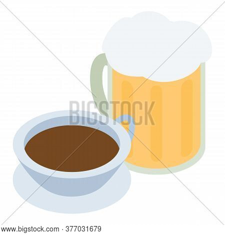 Traditional Drink Icon. Isometric Illustration Of Traditional Drink Vector Icon For Web
