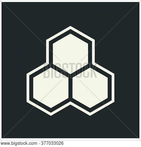 Honeycomb Icon Isolated On White Background From Collection. Honeycomb Icon Trendy And Modern Honeyc