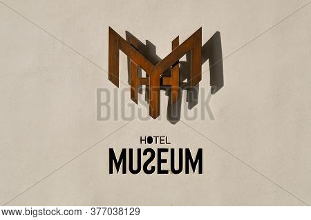 Belgrade / Serbia - February 15, 2020: Hotel Museum, 4 Stars Hotel Located In The Historical Downtow