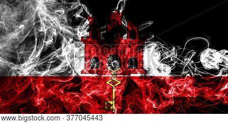 Gibraltar Smoke Flag, British Overseas Territories, Britain Dependent Territory Flag