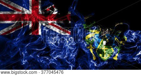 Pitcairn Islands Smoke Flag, British Overseas Territories, Britain Dependent Territory Flag