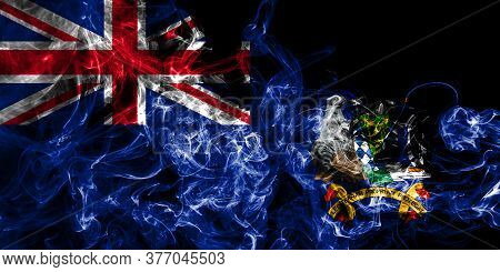 South Georgia And The South Sandwich Islands Smoke Flag, British Overseas Territories, Britain Depen
