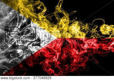 Marquesas Islands Smoke Flag,  Islands In French Polynesia