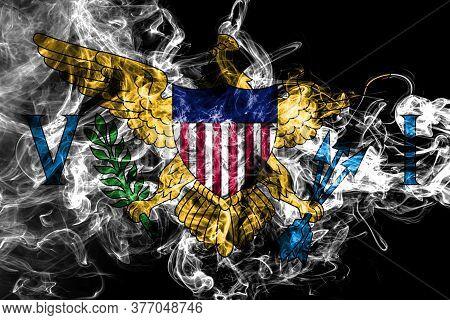 Virgin Islands Smoke Flag, United States Dependent Territory Flag