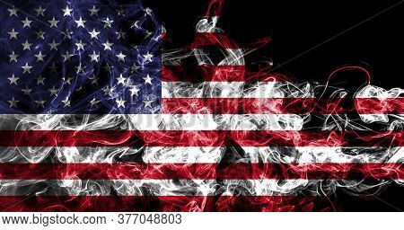 United States Of America Smoke Flag, American Flag, Usa Flag