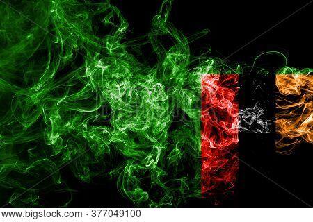 Zambia Smoke Flag National Smoke Flag Zambia