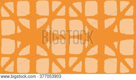 Japanese Tie Dye Seamless Pattern. Glamour Kimono Textile. Geometric Bohemian Asian Tie Dye Design.