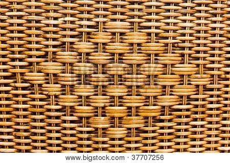 The Pattern Of Woven Basket