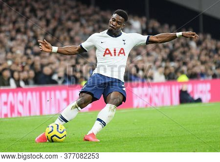 London, England - February 2, 2020: Serge Aurier Of Tottenham Pictured During The 2019/20 Premier Le