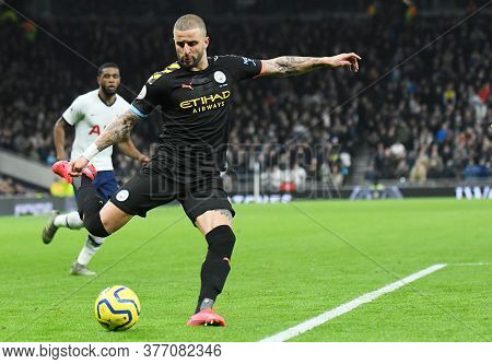 London, England - February 2, 2020: Kyle Walker Of City Pictured During The 2019/20 Premier League G