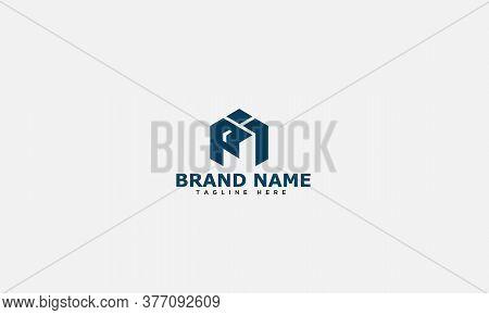 Pi Logo Design Template Vector Graphic Branding Element.