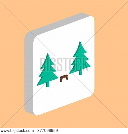 Camping Simple Vector Icon. Illustration Symbol Design Template For Web Mobile Ui Element. Perfect C